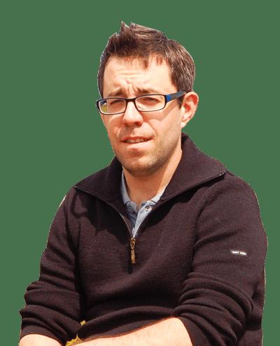 Ronan Vignez, fondateur de On se met au vert
