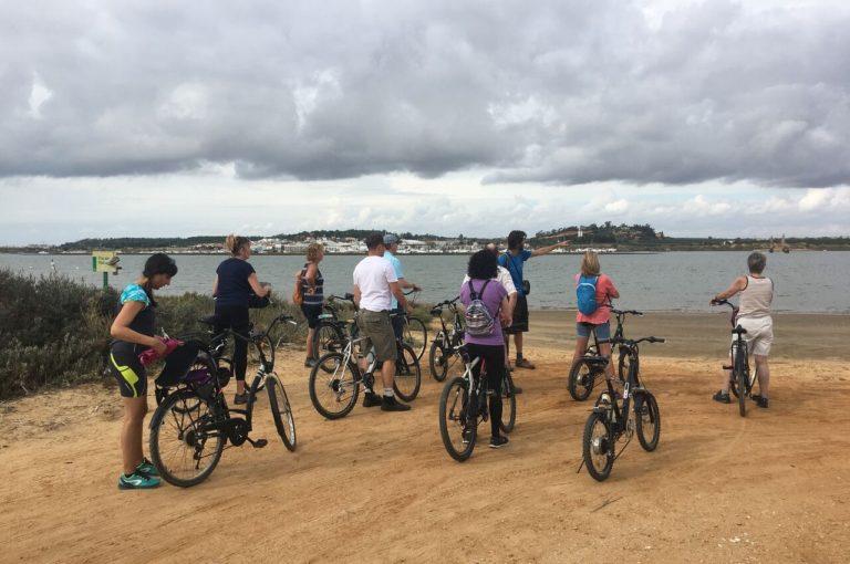 Balade en vélo lors d'un séjour multi-activités avec On se met au vert