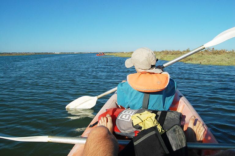 Balade en Kayak lors d'un séjour multi-activités en Andalousie